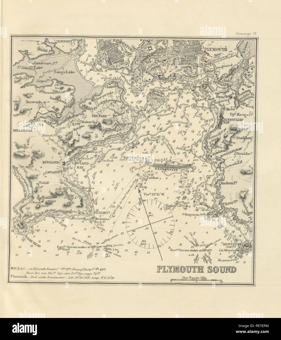 Map Of Northern France Coastline.Page 117 Of Sailing Directions For The English Channel Part I The