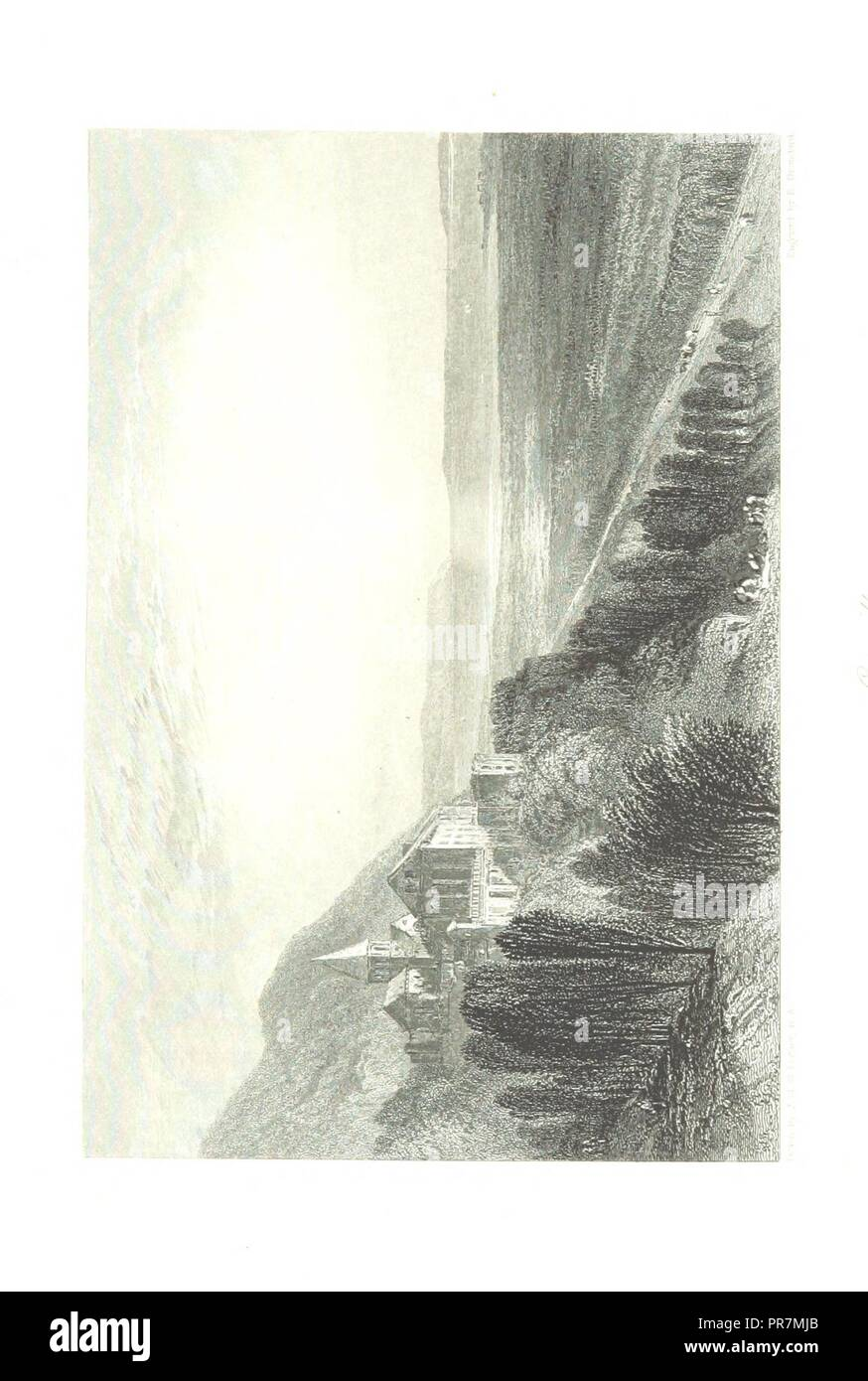 page 221 of 'Turner's Rivers of France, with an introduction by John Ruskin. A series of . steel engravings, . described by L. Ritchie. With a biography of the artists by A. A. Watts' . - Stock Image