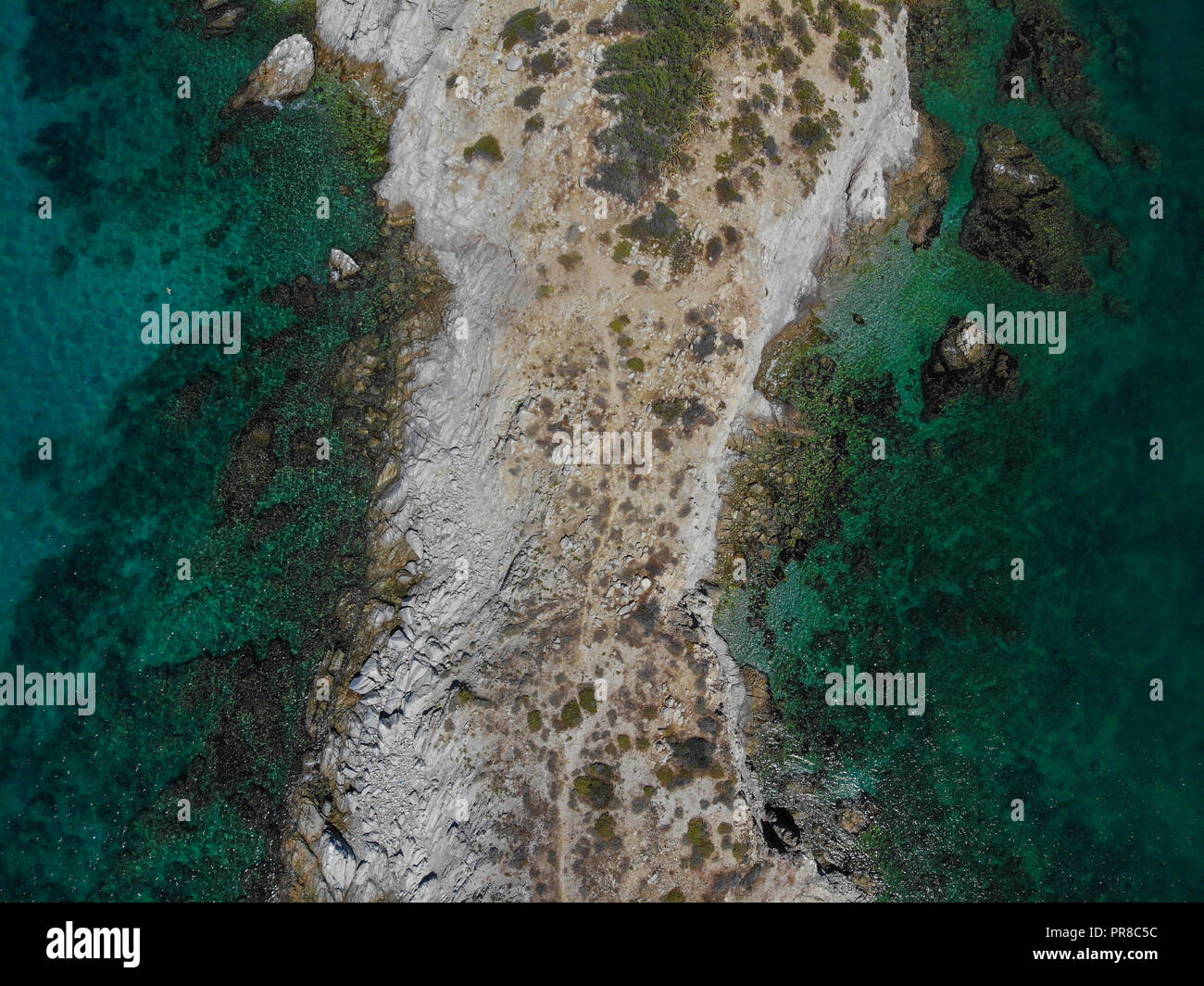 San Carlos Sonora Mexico Map.Aerial View Of Hill In The Bay Of San Carlos Sonora Mexico Gulf