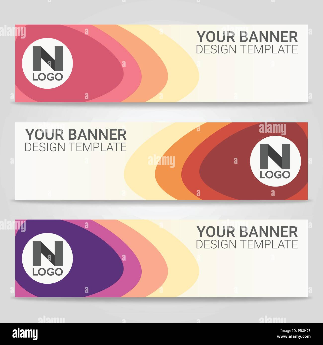 Abstract Beautiful Banner Template Background Vector Illustration Design For Business Presentation Stock Vector Image Art Alamy