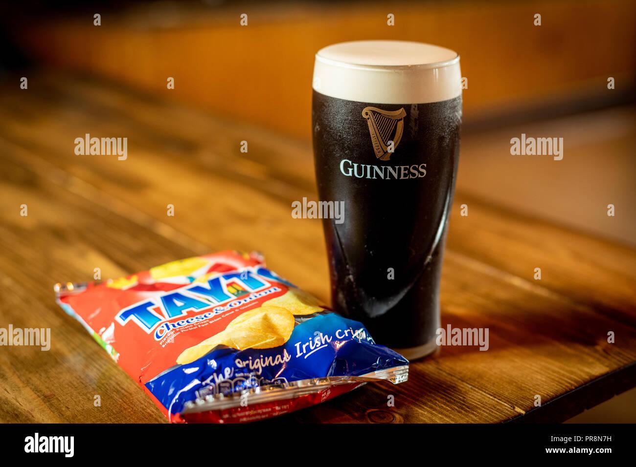 An Irish Meal - Stock Image