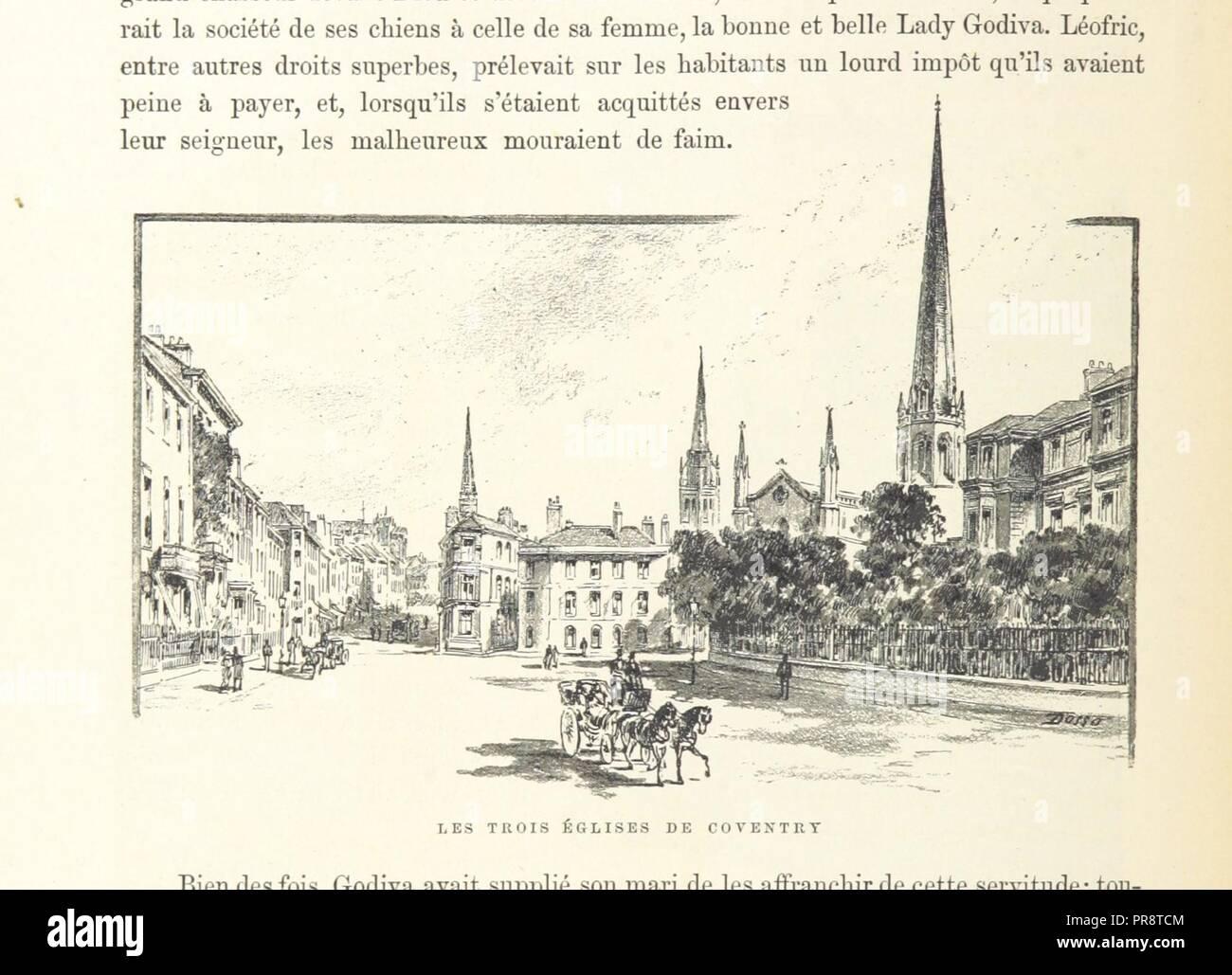 Carte Angleterre Ecosse.Page 388 Of Le Monde Pittoresque Et Monumental L Angleterre L