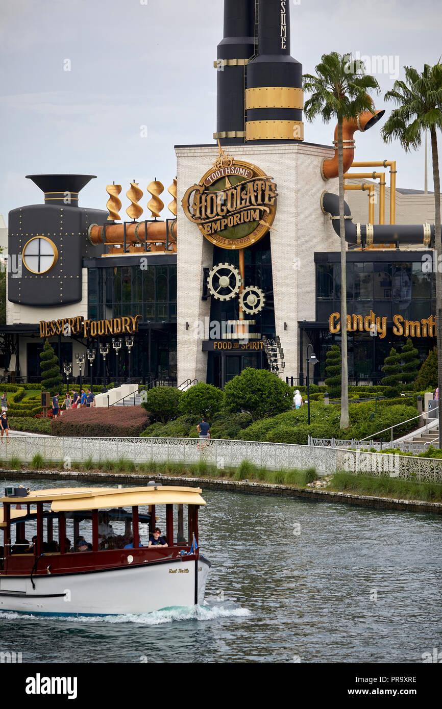 Chocolate Emporium in Orlando, Florida, USA - Stock Image