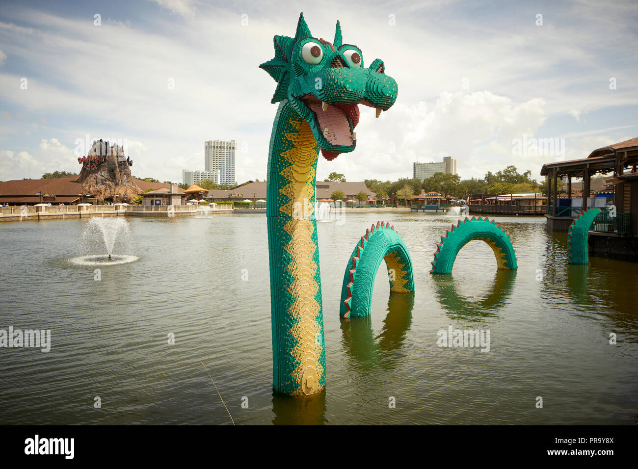 The Loch Ness Monster - Stock Image