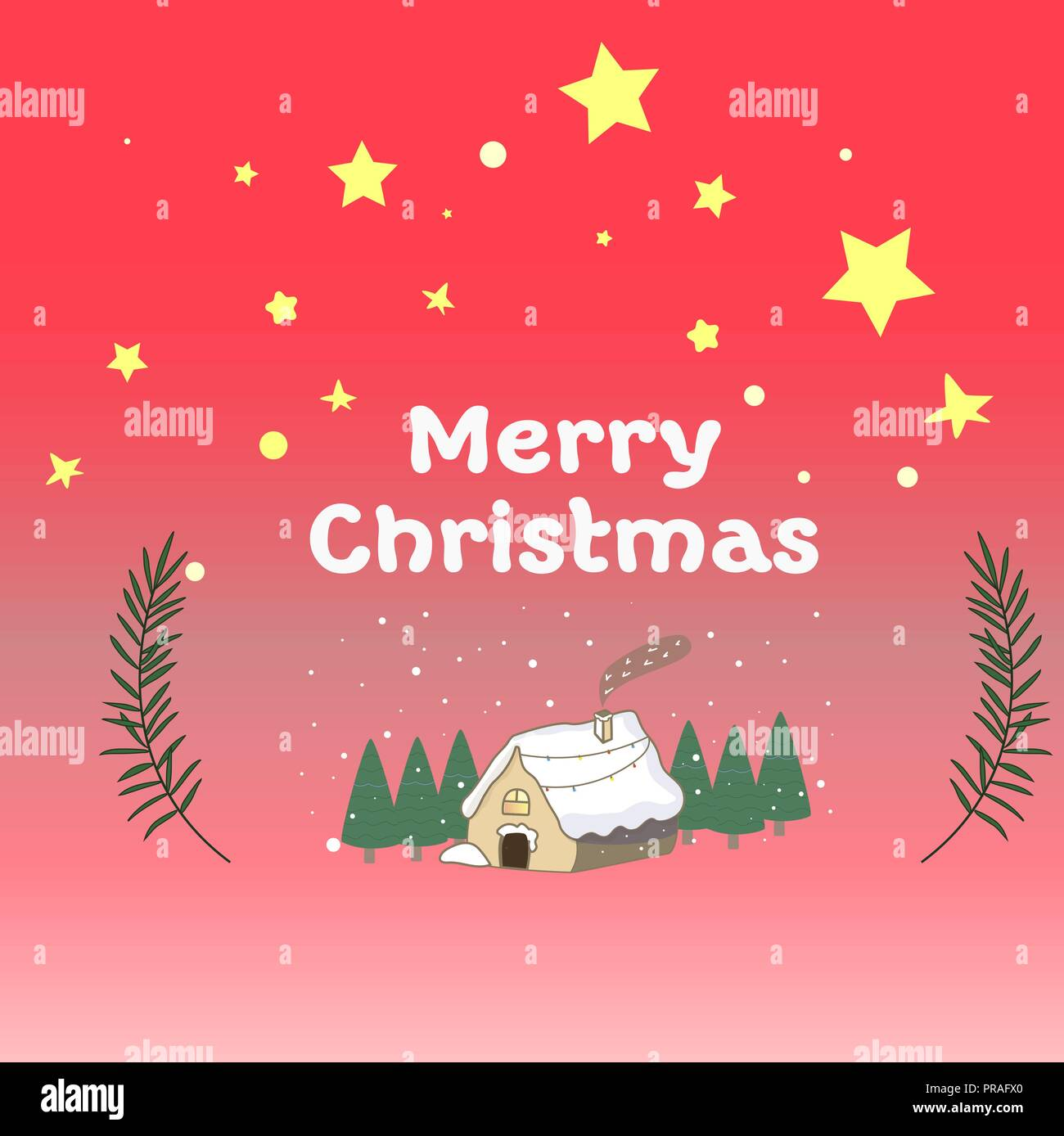 Gingerbread House Stock Vector Images - Alamy