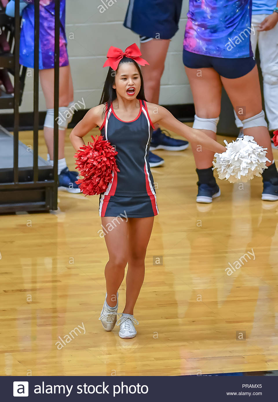 Phrase... asian girl cheerleader was