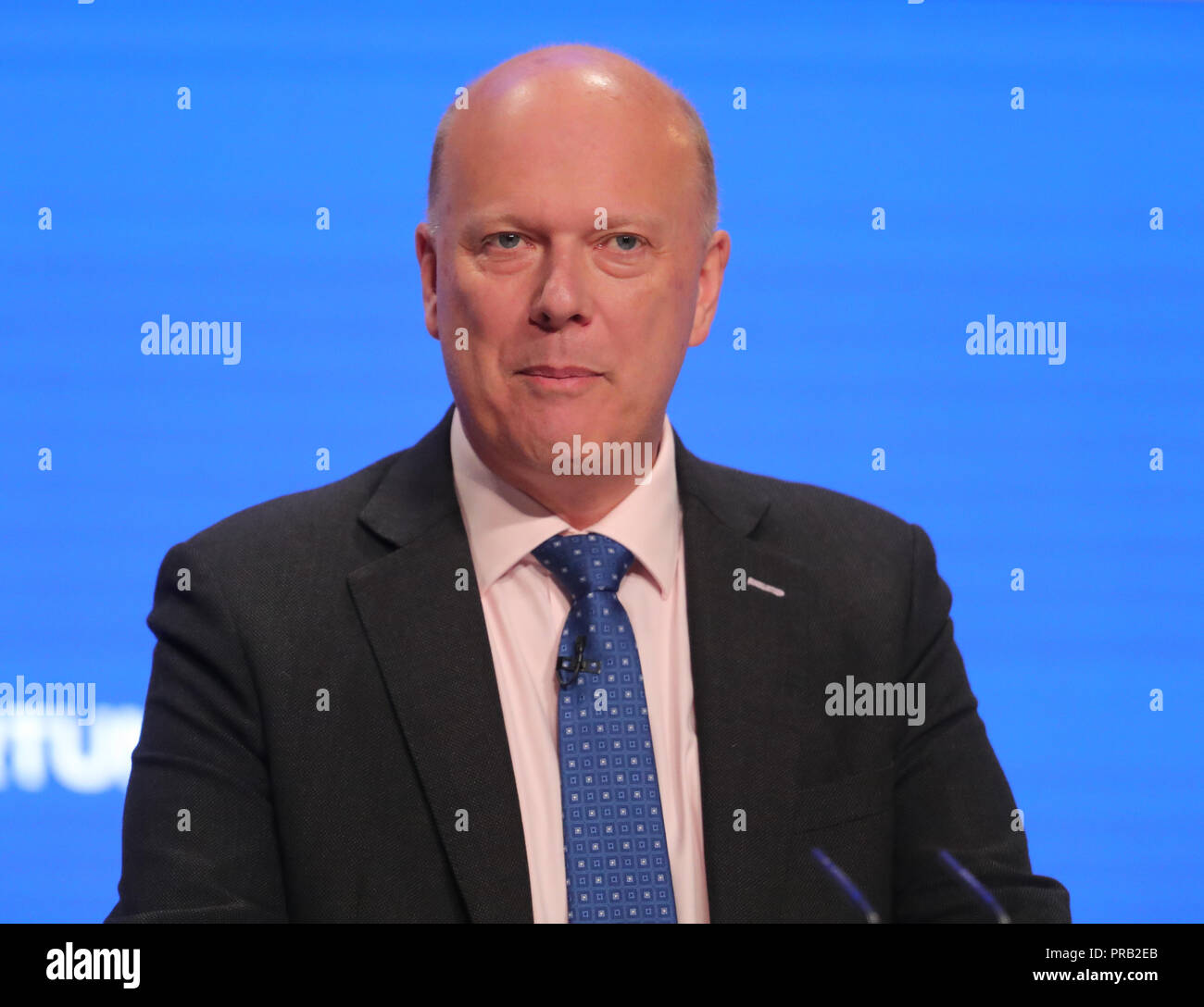 Chris Grayling MP 2018 - Stock Image