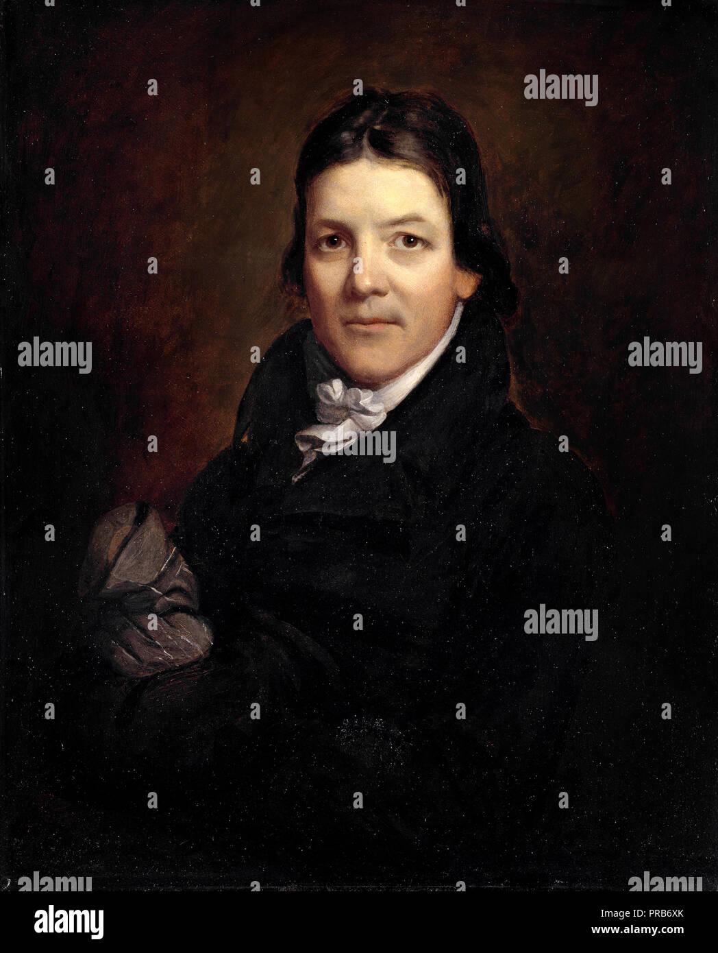 John Wesley Jarvis, John Randolph, 1811 Oil on canvas, National Portrait Gallery, Washington, D.C., USA. - Stock Image