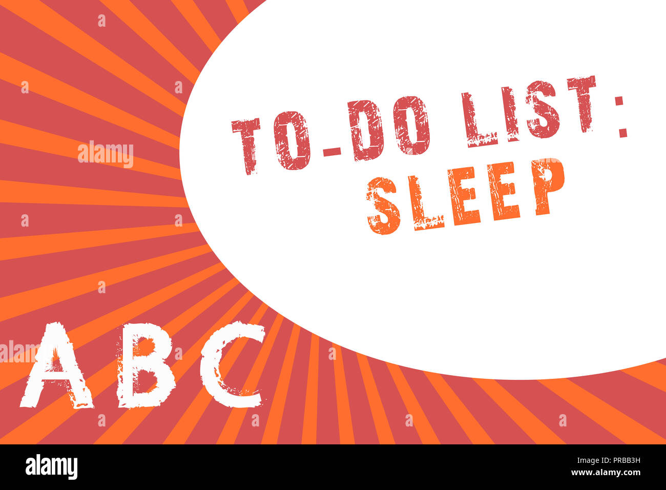 text sign showing to do list sleep conceptual photo things to be