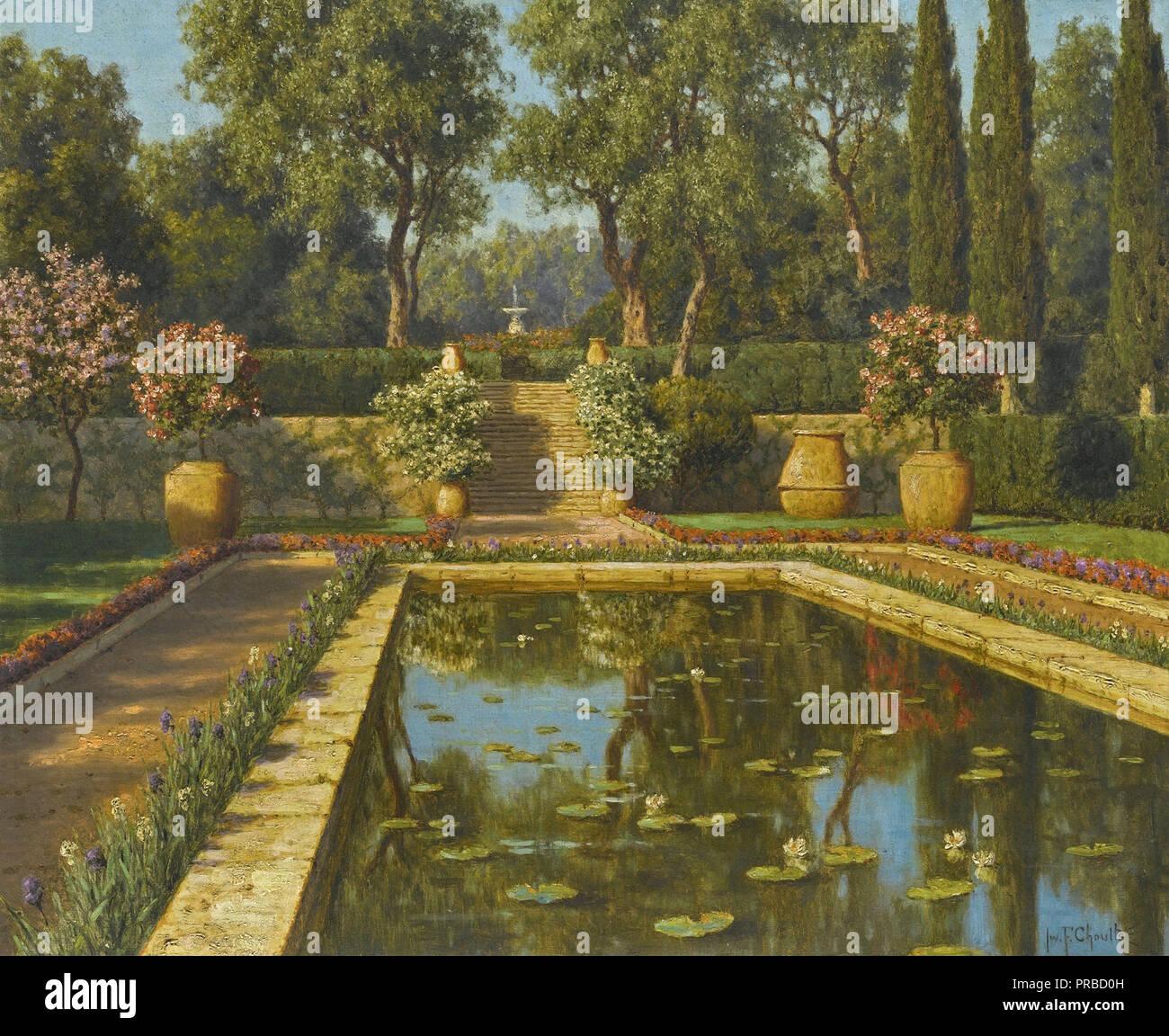 Choultse Ivan - Jardin Fleuri Nice Stock Photo: 220913185 - Alamy