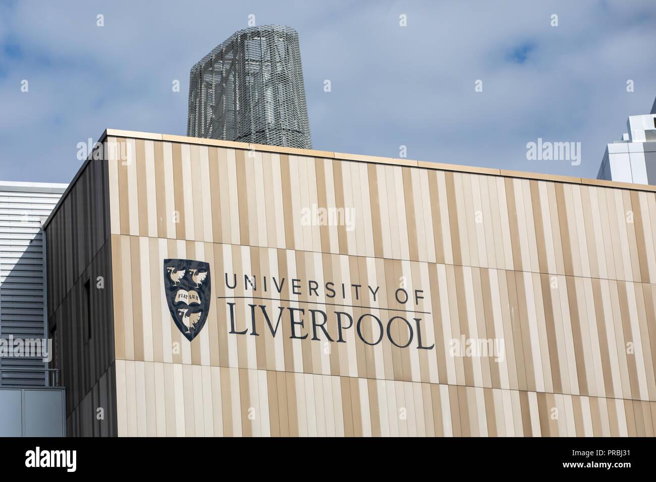 Liverpool University - Stock Image