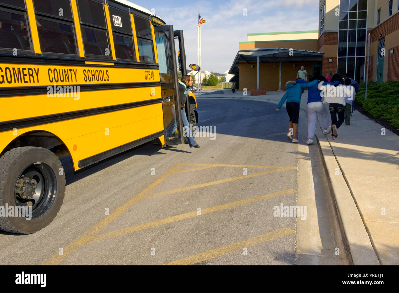 Students in Montgomery County, Maryland enjoy cleaner air