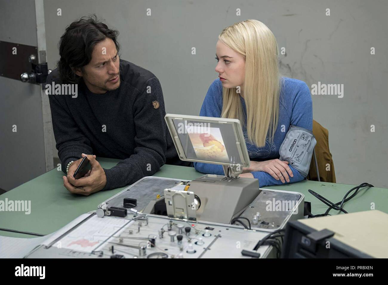 MANIAC  Paramount Television  mini-series 2018> with Emma Stone and  Cary Fukunaga - Stock Image