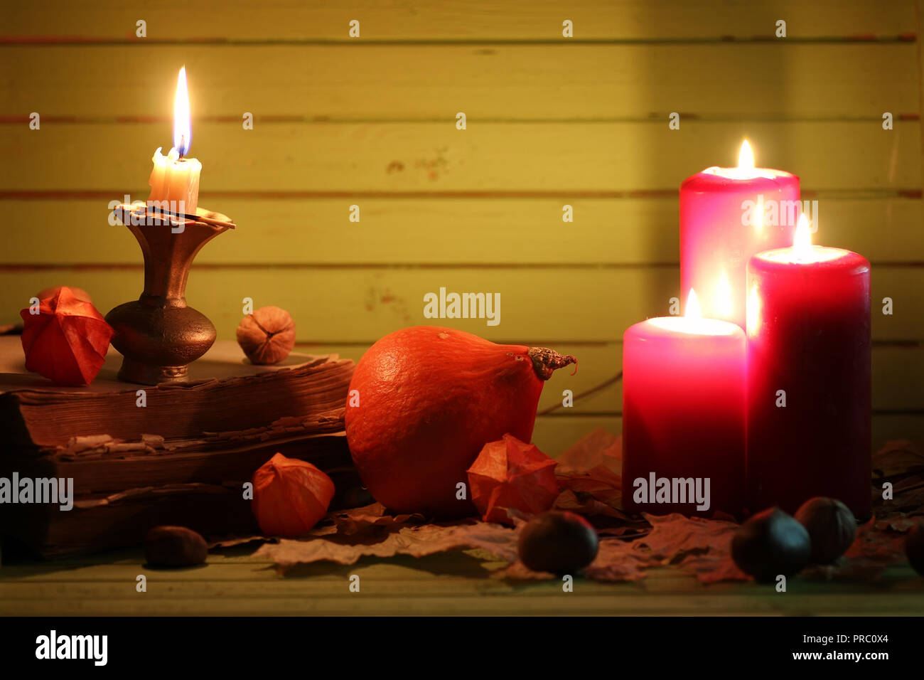 preparation of various decorations and attributes for the