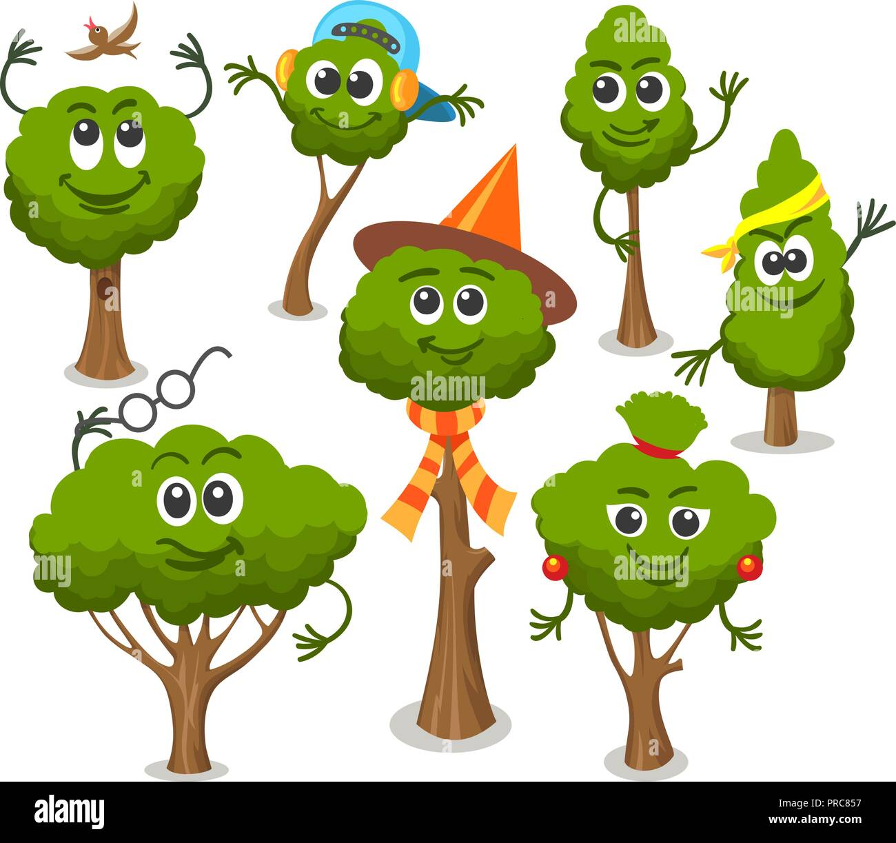 Cute Trees With Faces Funny Smiling Tree And Bush Set Isolated On White Background Vector Cartoon Fairytale Plants Characters Stock Vector Image Art Alamy You can even create your own characters and start drawing a comic strip or work on animating a short film! https www alamy com cute trees with faces funny smiling tree and bush set isolated on white background vector cartoon fairytale plants characters image220931347 html