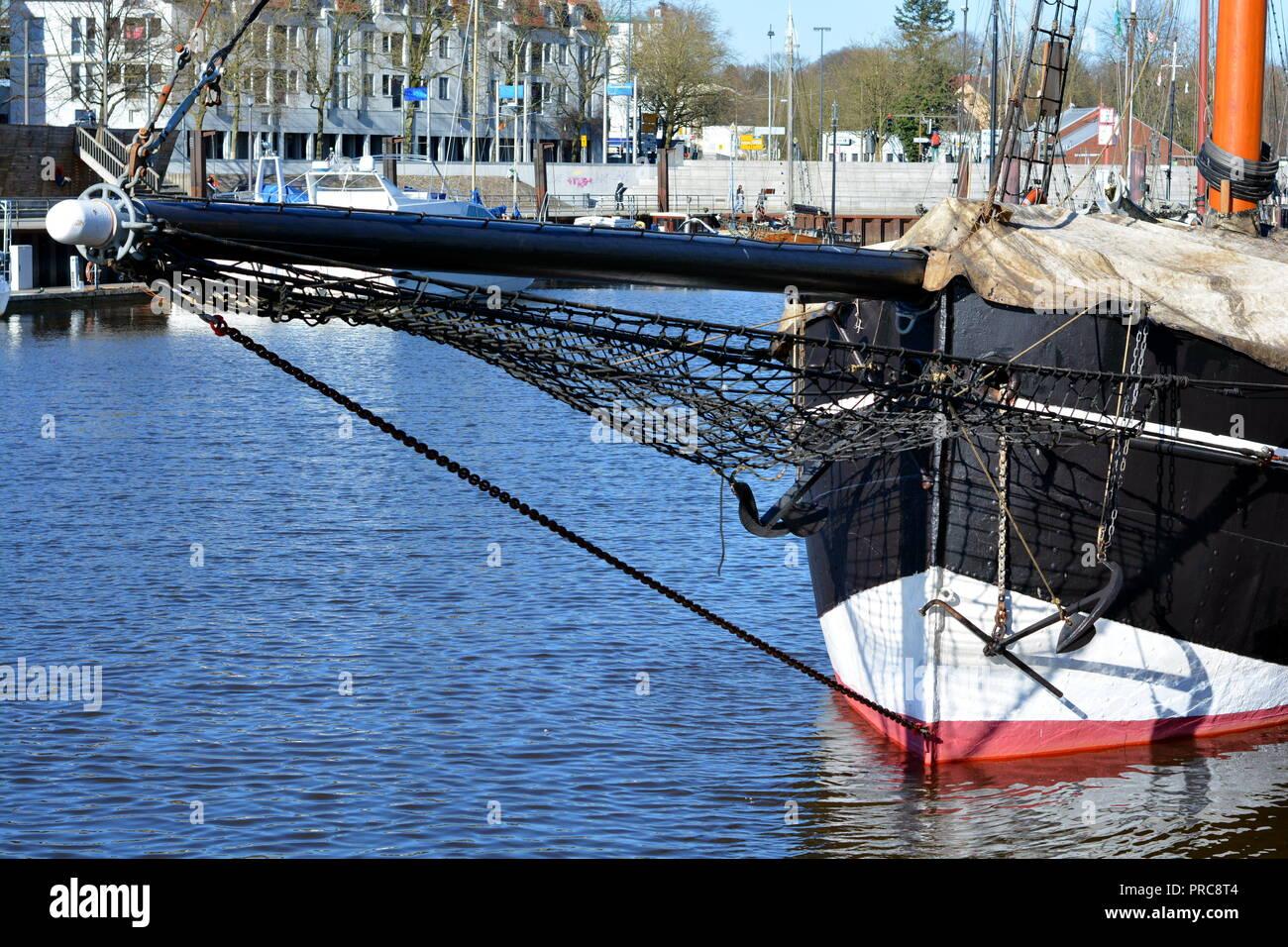Segelboot  Hafen - Stock Image