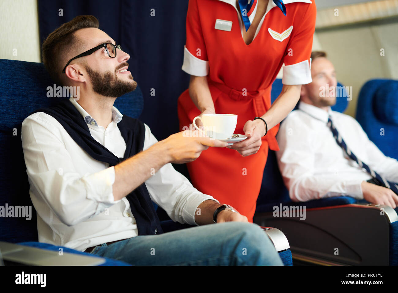 First Class Service - Stock Image