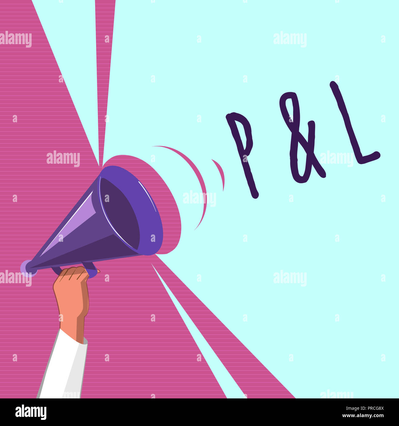 text sign showing p and l conceptual photo primary financial