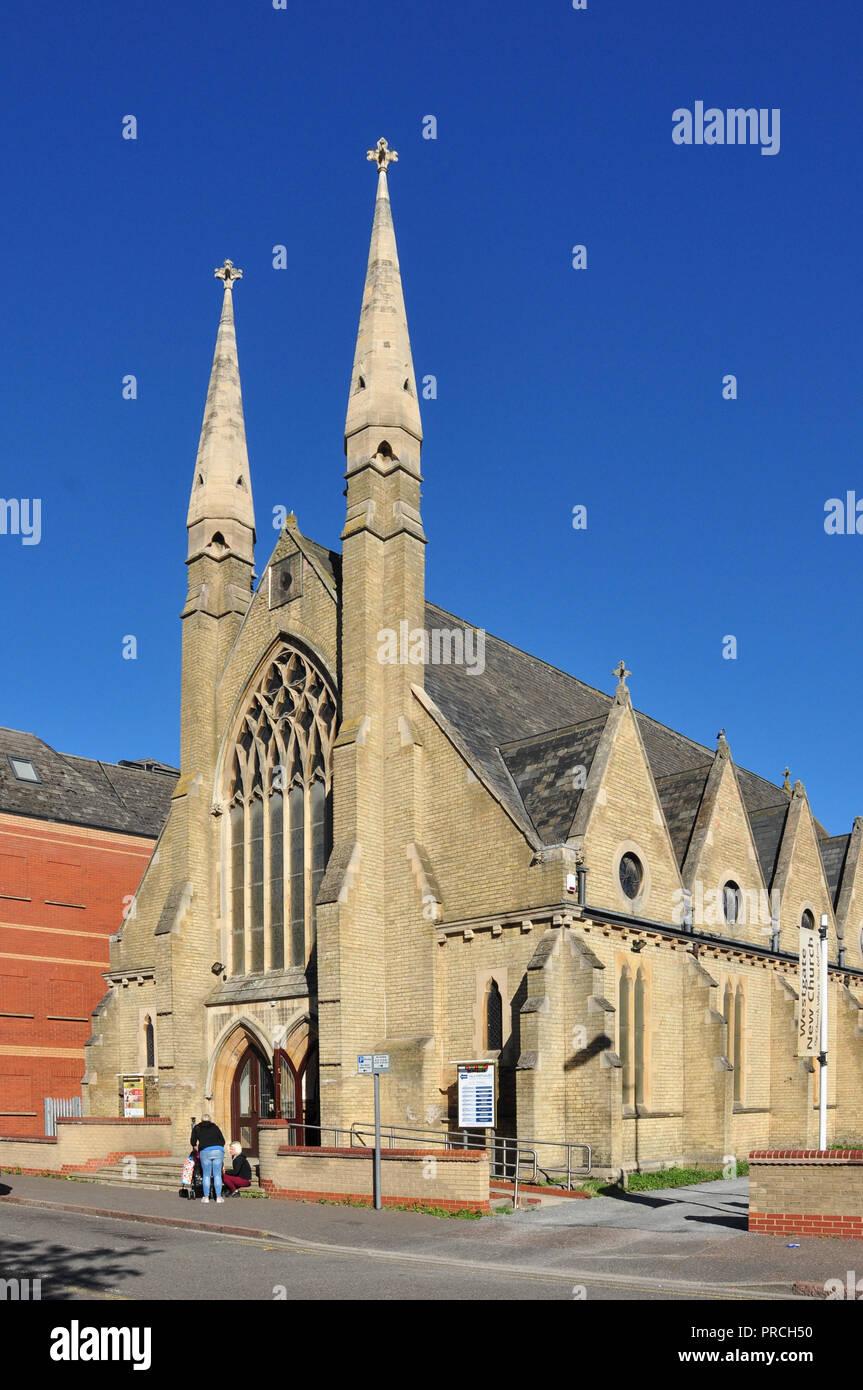 Westgate New Church, Peterborough, Cambridgeshire, England, UK - Stock Image