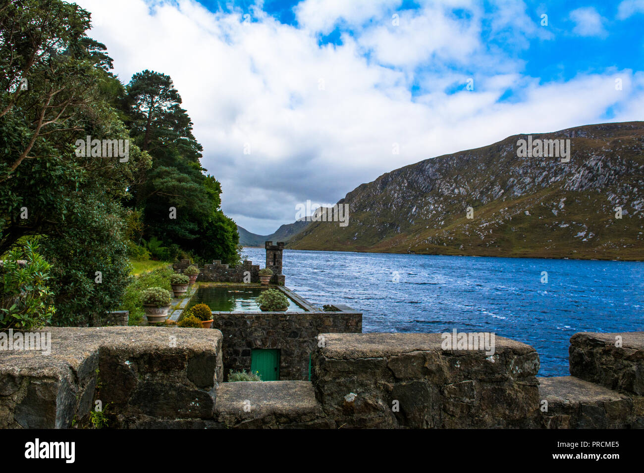 Glenveagh National Park Gweedore Donegal Ireland - Stock Image