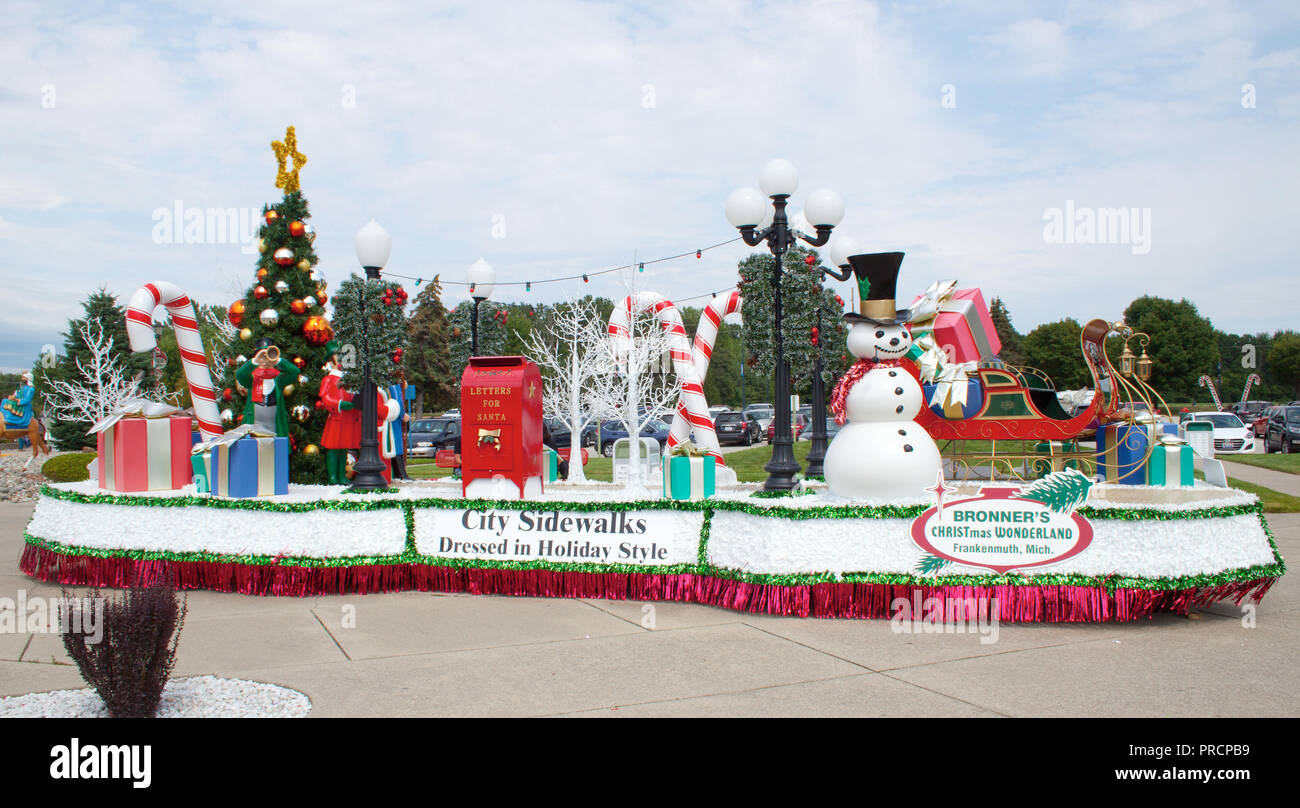 Christmas Michigan.Bavarian Themed Christmas Town In Frankenmuth Michigan