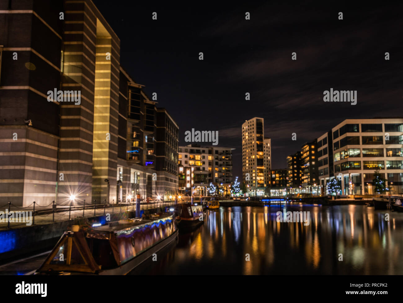 Clarence dock - Stock Image