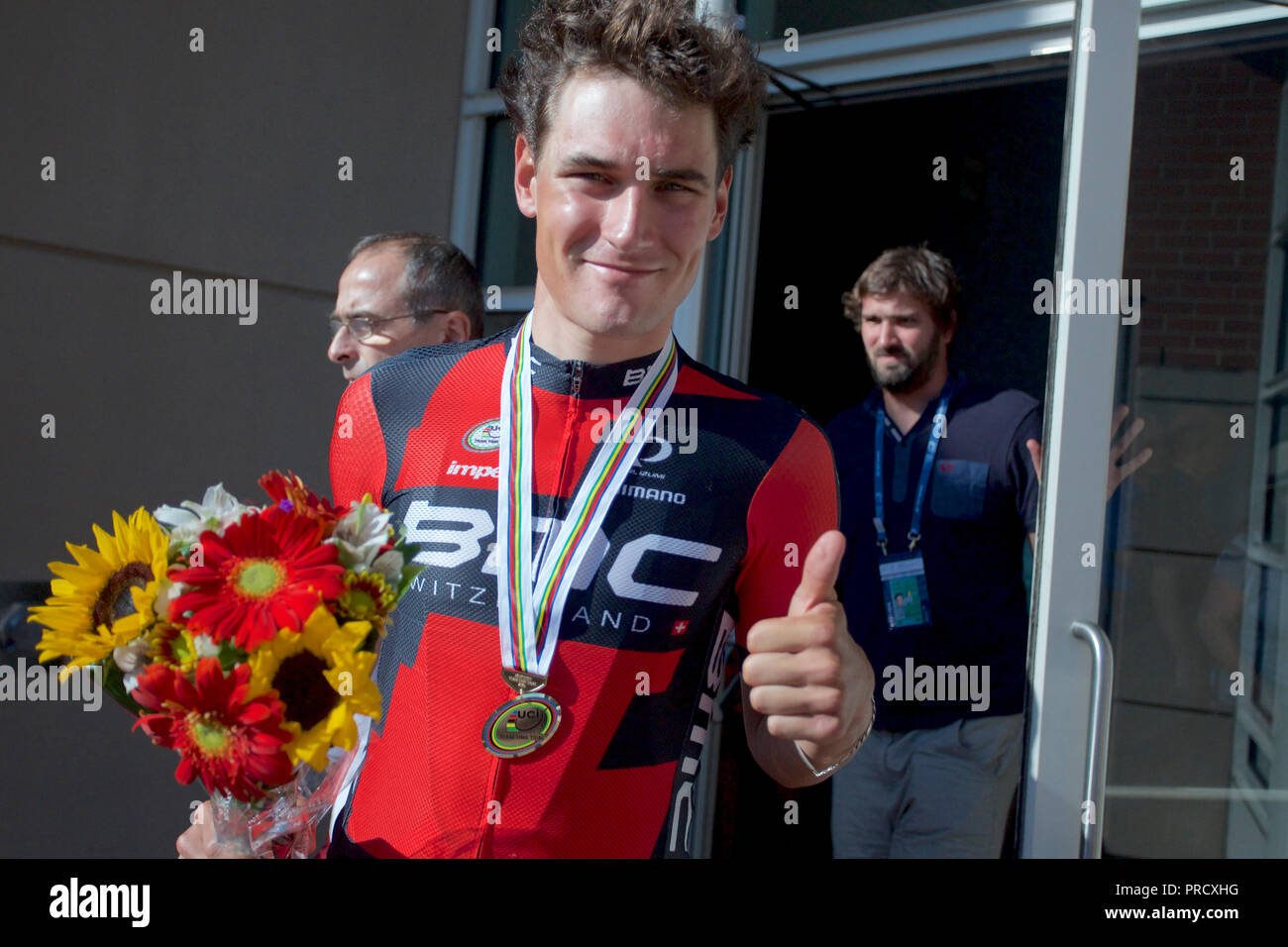World Championship Cycling in Richmond, Virginia 2015 - Stock Image