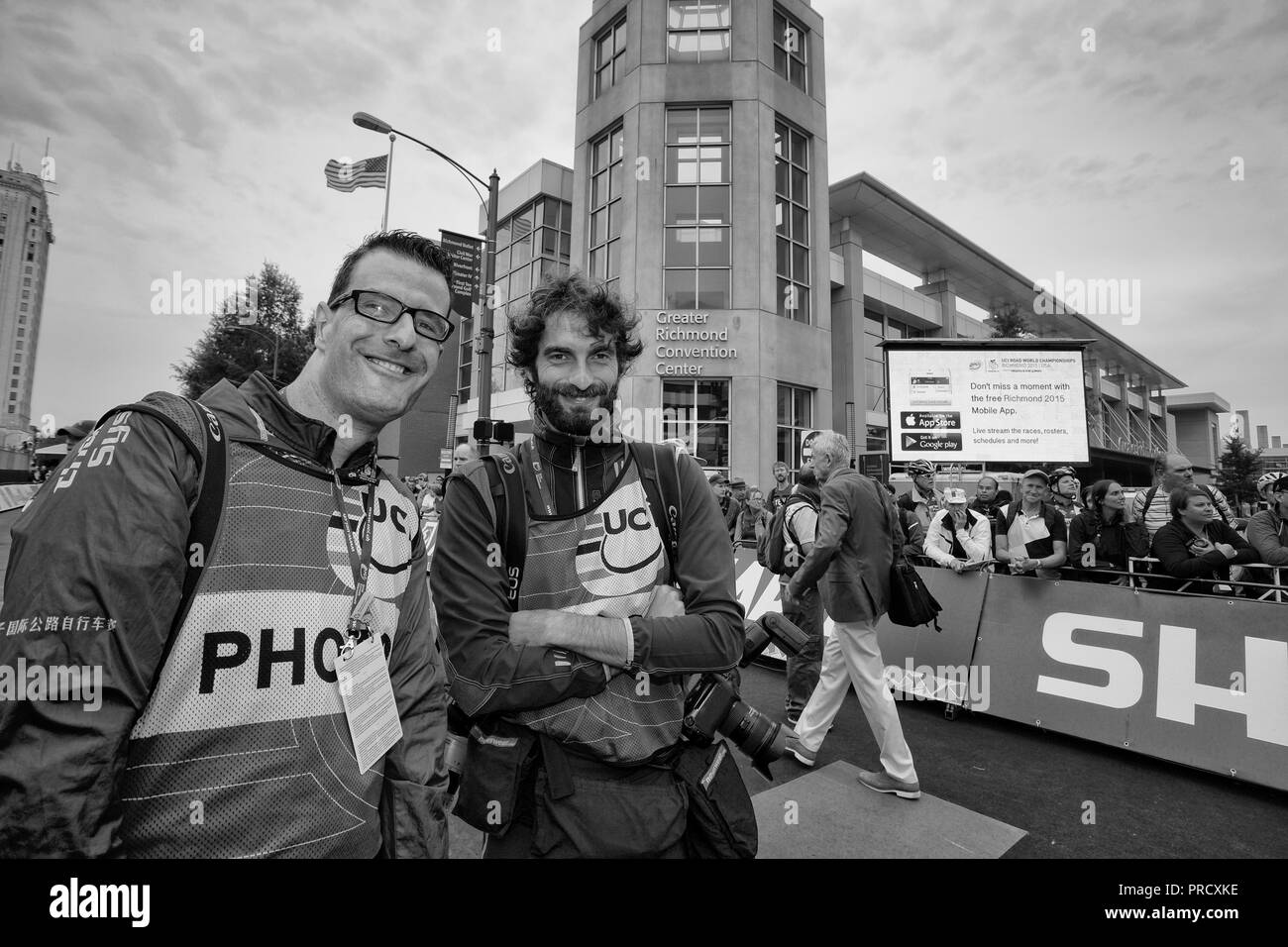 Cycling Championship Black and White Stock Photos & Images