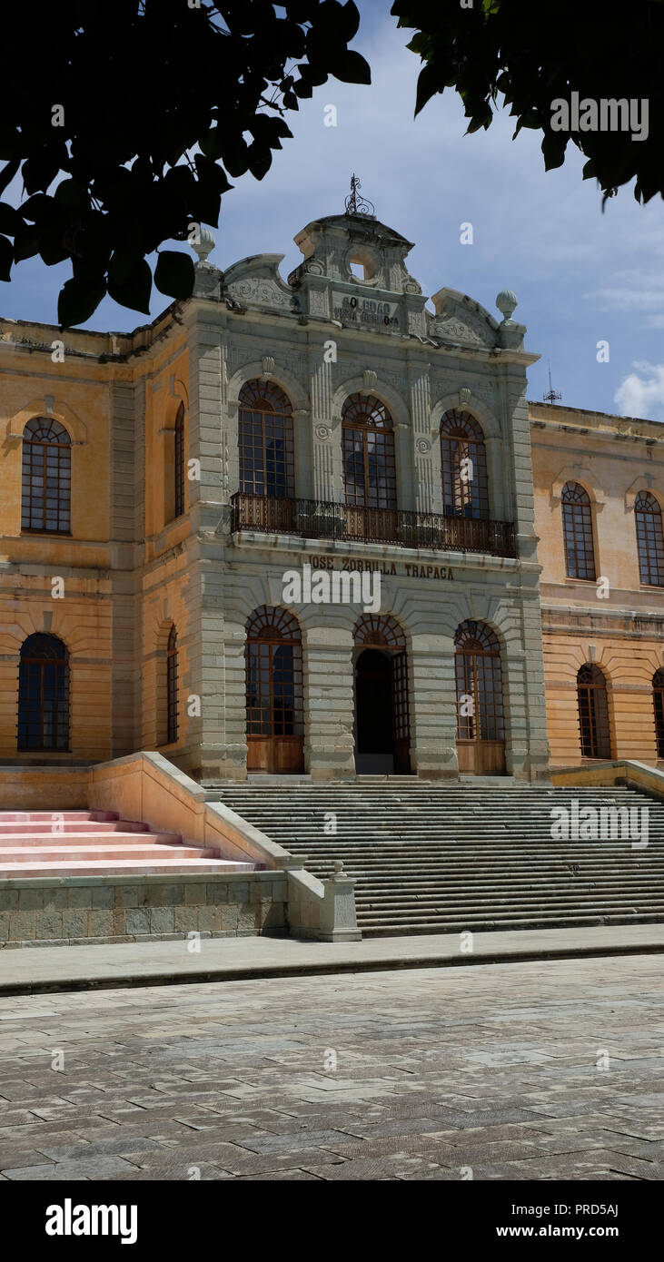 Arts Center in San Agustin Etla, Oaxaca, Mexico Stock Photo