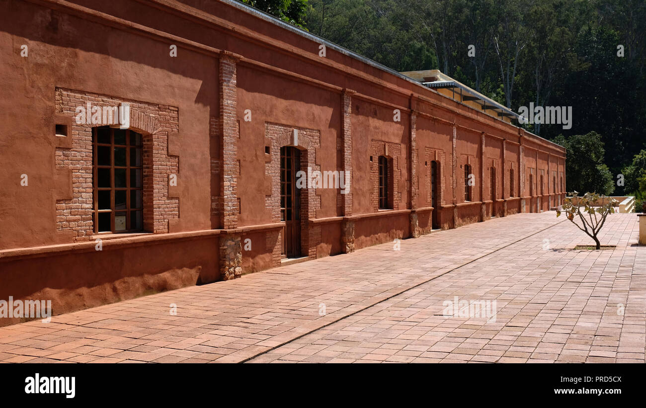 Arts Center in San Agustin Etla, Oaxaca, Mexico - Stock Image