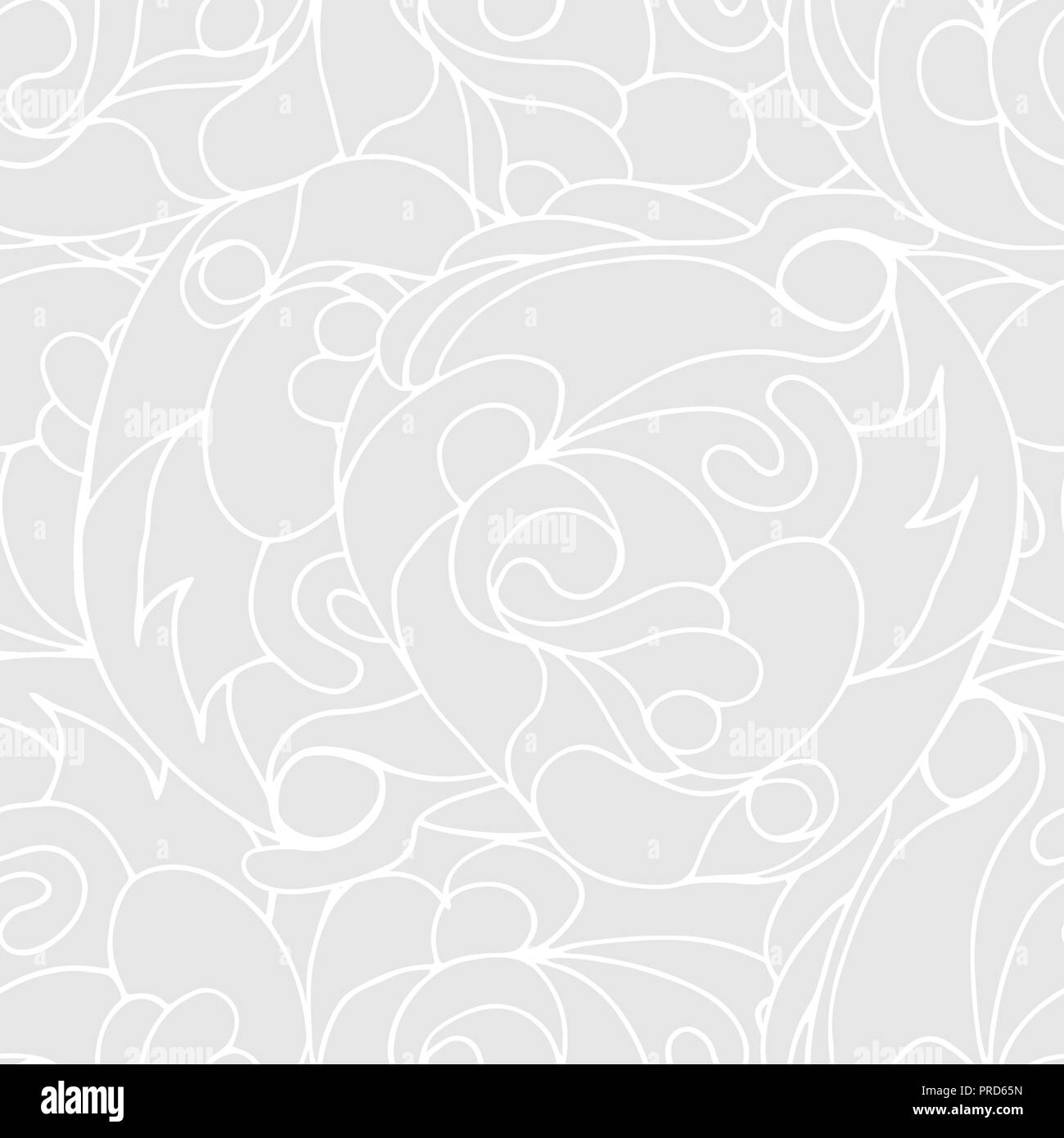 Abstract light gray colors composition - Stock Image