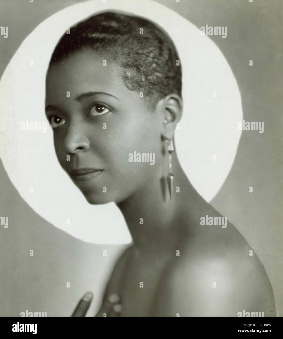 ETHEL WATERS (1896-1977) American singer and stage actress about 1925 - Stock Image