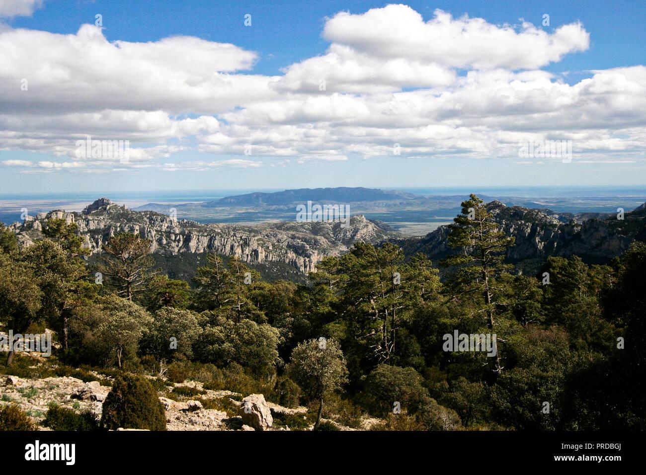 Mas de Barberans. Els Ports Natural Park; Montsia Region; Tarragona Province; Catalonia; Spain. - Stock Image