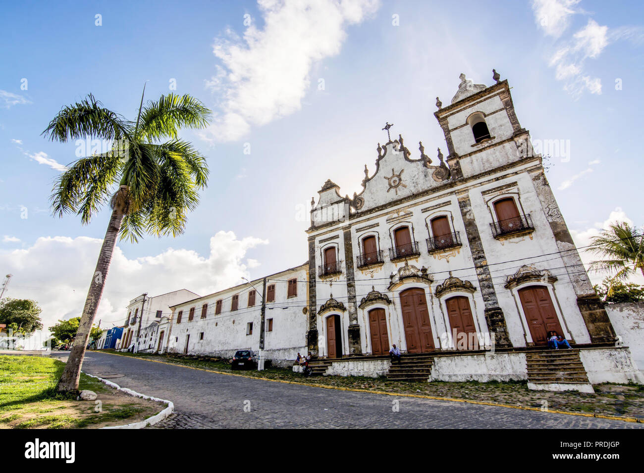 Convent of St. Anthony and the Ensemble of the Sacred Heart of Jesus, Igarassu, Pernambuco, Brazil - Stock Image