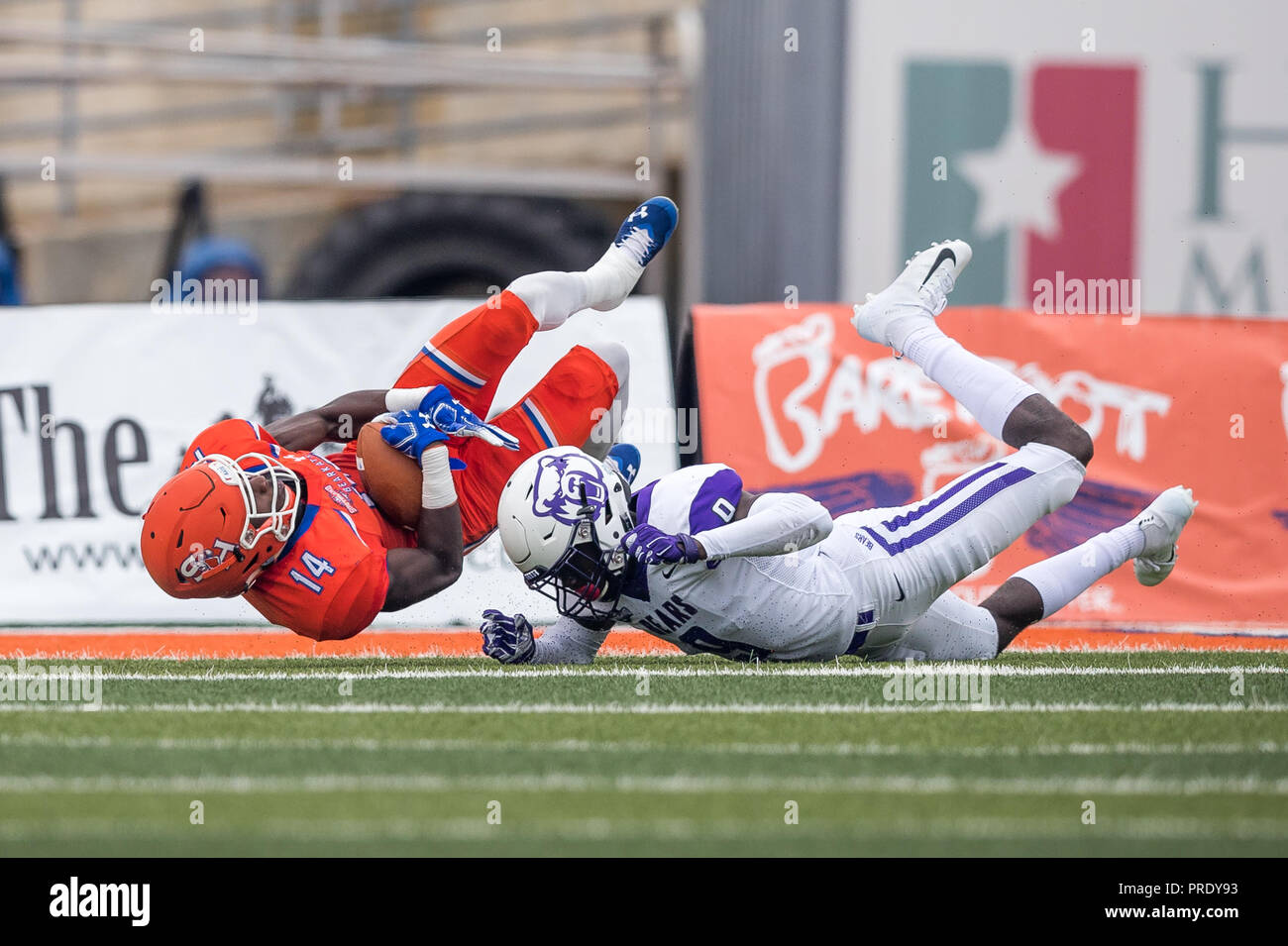 pretty nice 30b3b 2f76f Overtime. 29th Sep, 2018. Sam Houston State Bearkats wide ...