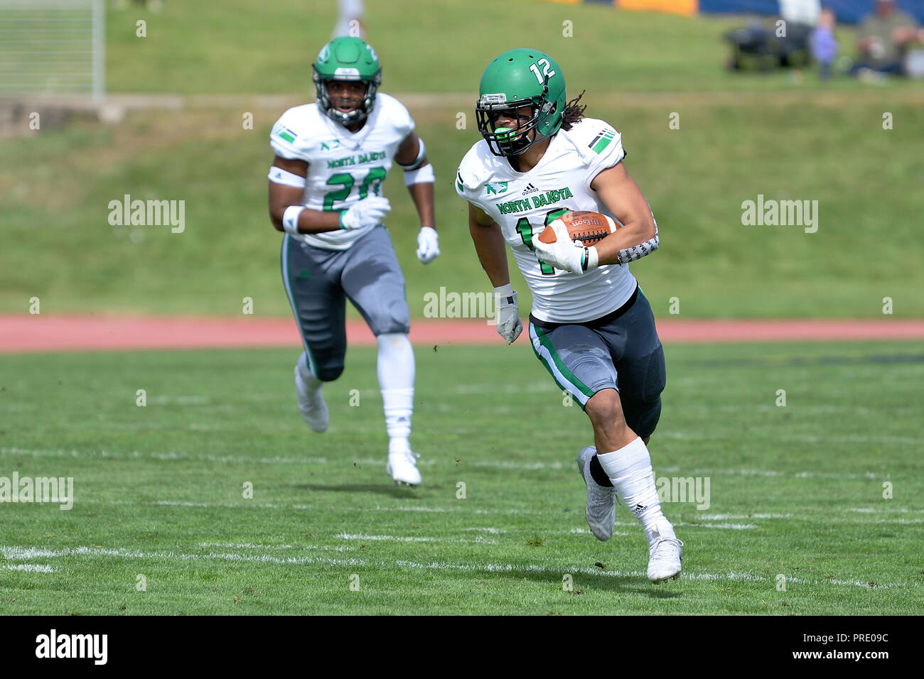 Greeley Co Usa 29th Sep 2018 North Dakota Fighting Hawks