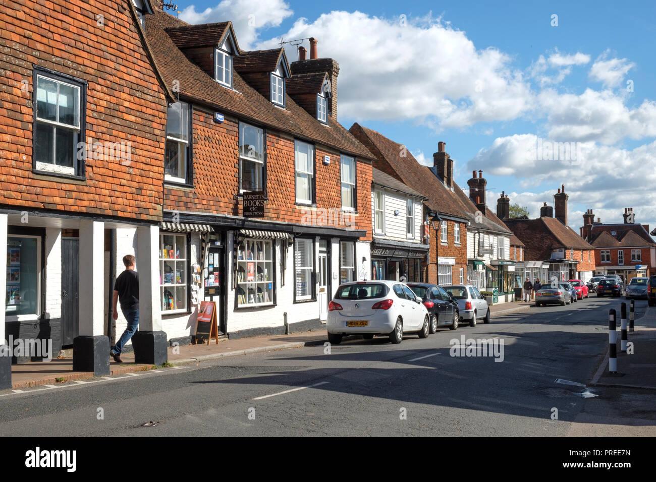 Wadhurst High Street, East Sussex, England, UK - Stock Image
