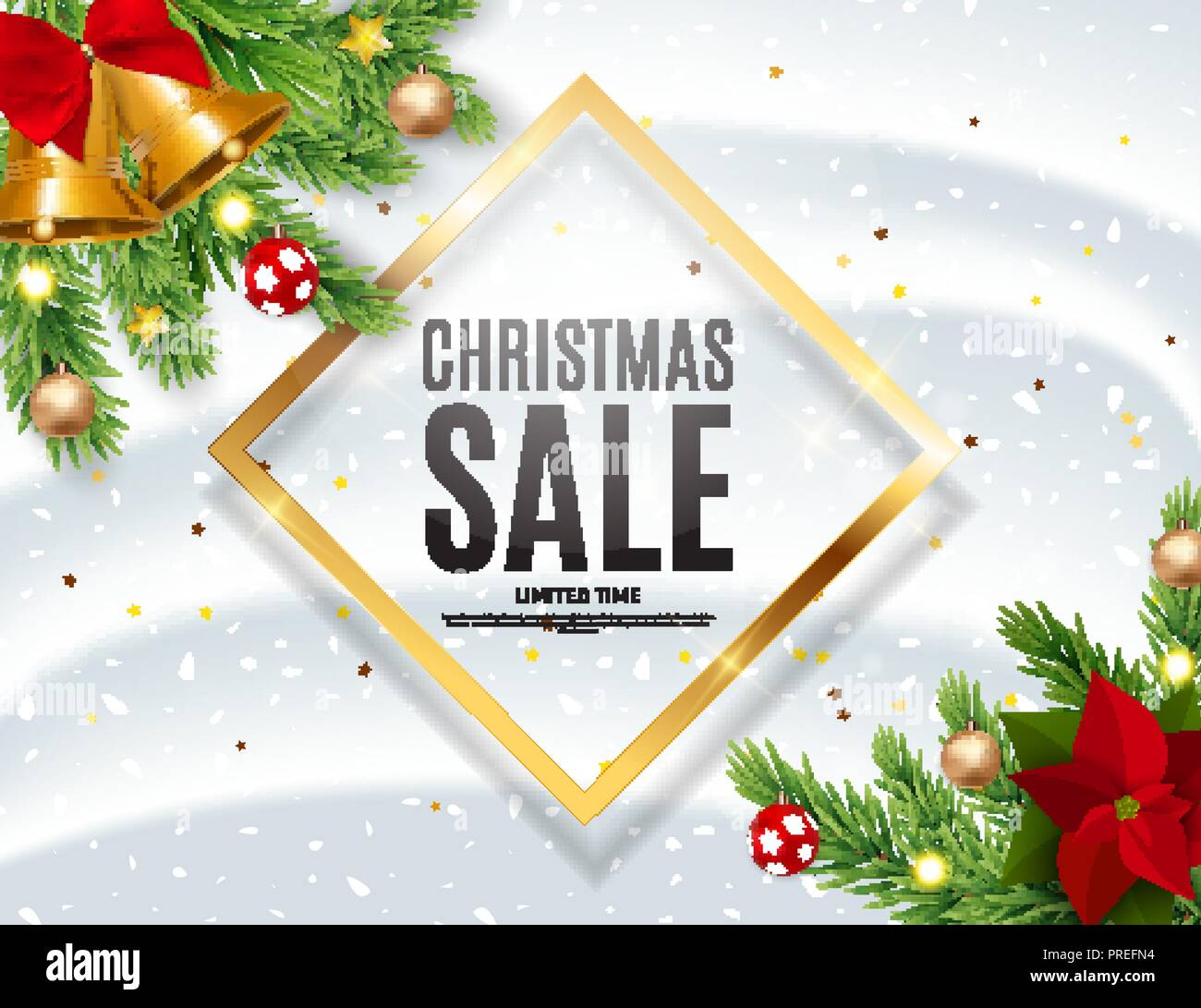 New Market Christmas Market Stock Vector Images - Alamy