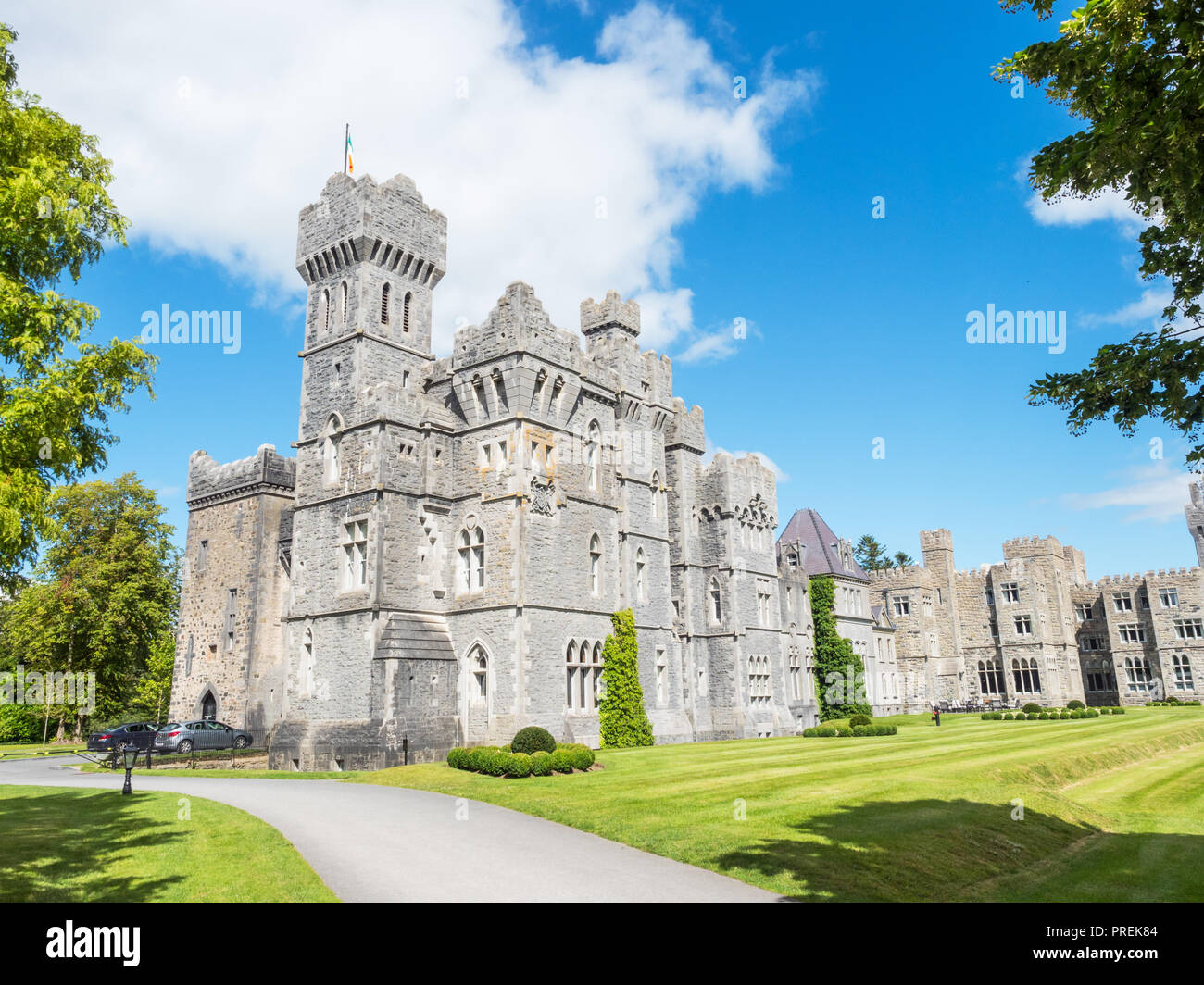 Ashford Castle Is A Medieval And Victorian Castle That Has Been