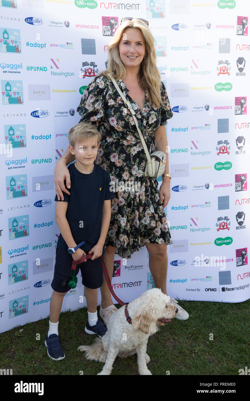Penny Lancaster Dog Stock Photos Penny Lancaster Dog Stock