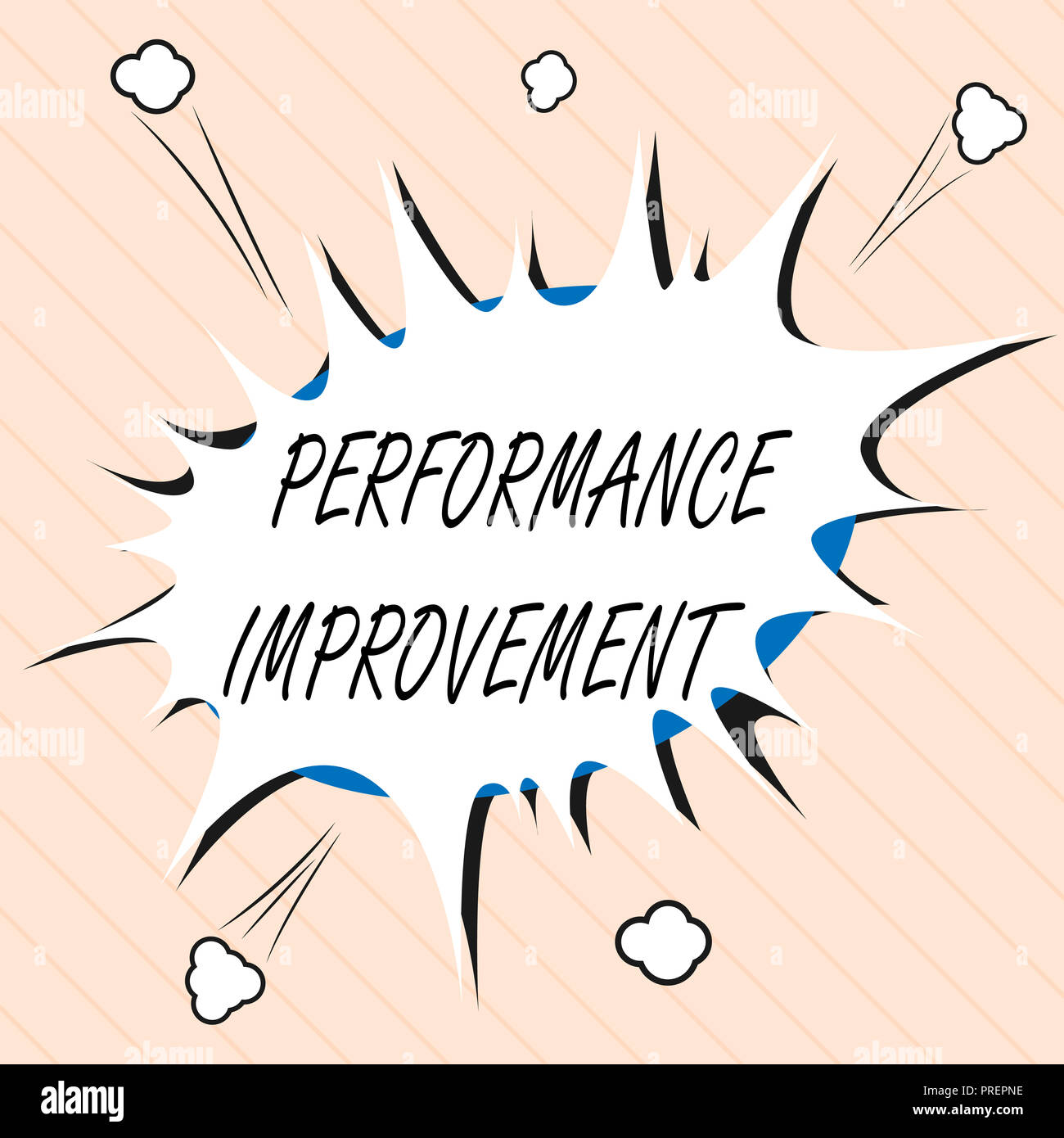 word writing text performance improvement business concept for