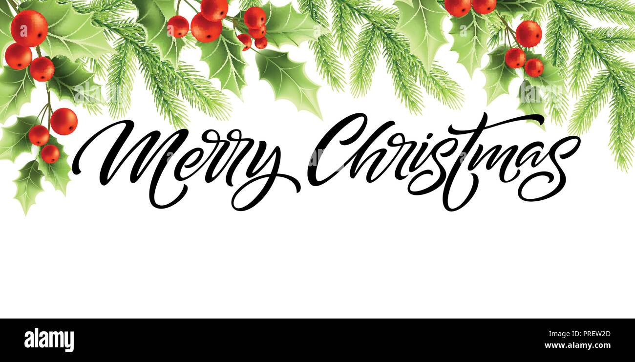 merry christmas and happy new year banner design