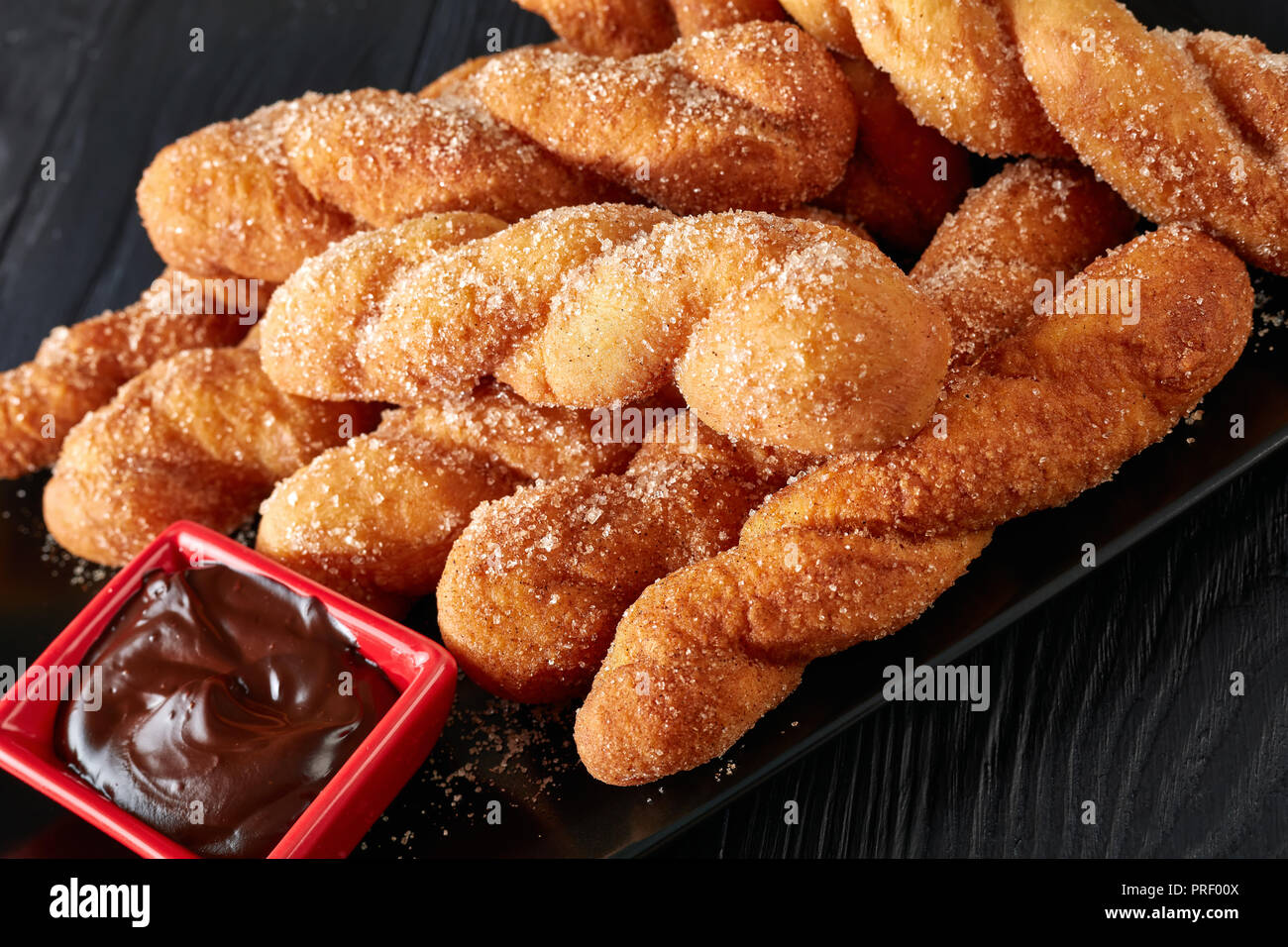 Chocolate Twist Pastry Stock Photos & Chocolate Twist Pastry