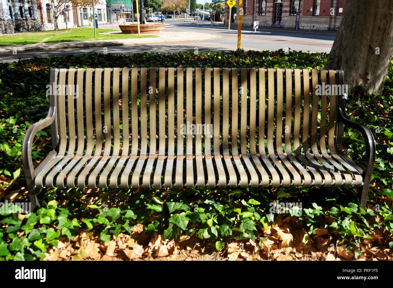 Enjoyable Wooden Bench In Garden At Phillimore Street In Perth Caraccident5 Cool Chair Designs And Ideas Caraccident5Info