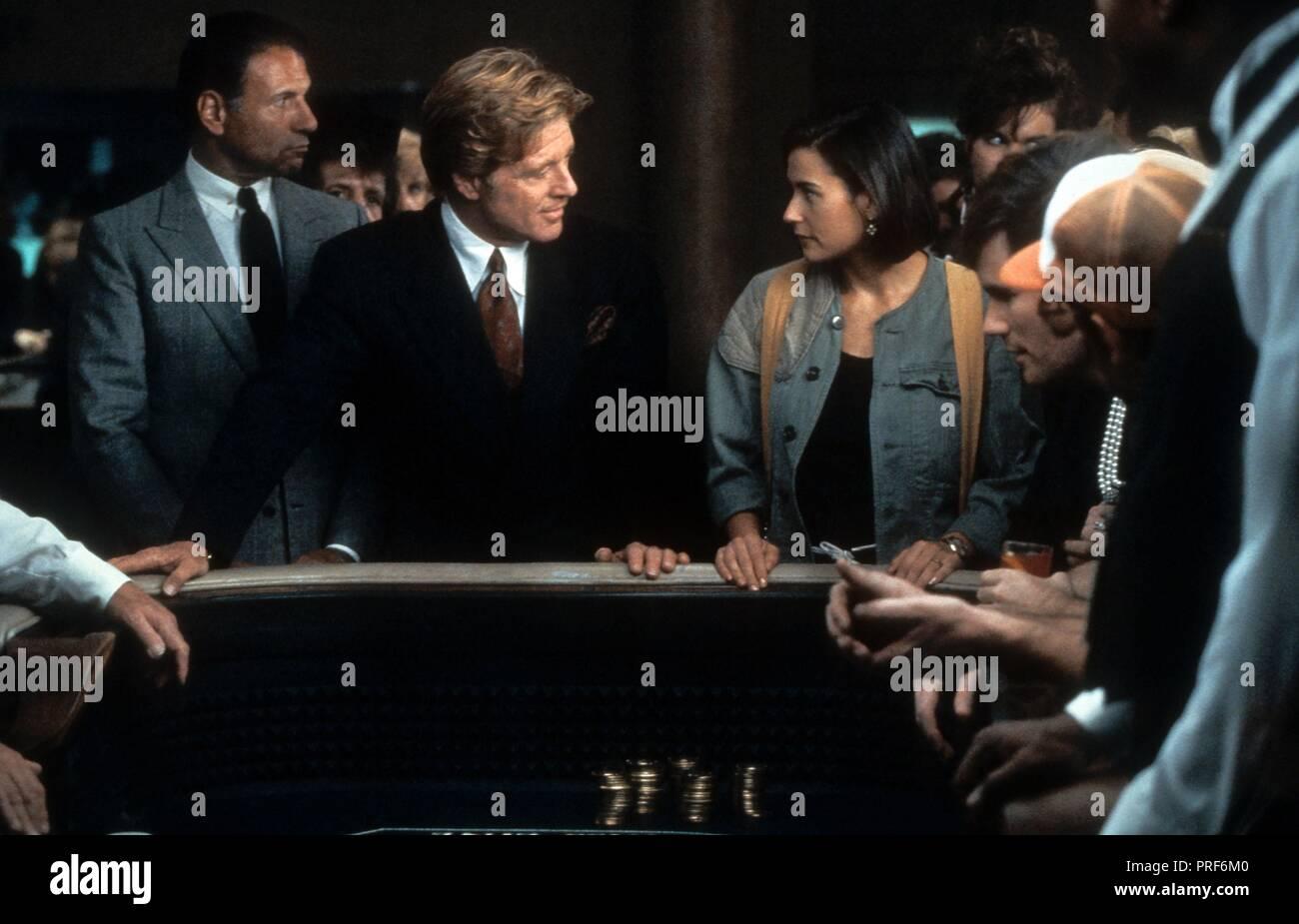 Original film title: INDECENT PROPOSAL. English title: INDECENT PROPOSAL. Year: 1993. Director: ADRIAN LYNE. Stars: DEMI MOORE; ROBERT REDFORD. Credit: PARAMOUNT PICTURES / Album - Stock Image