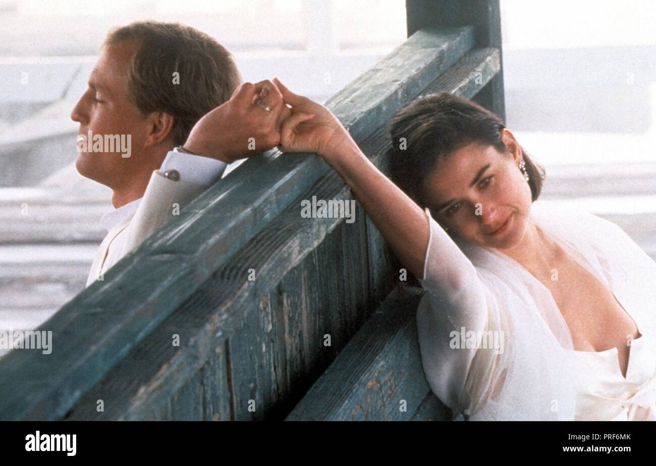 Original film title: INDECENT PROPOSAL. English title: INDECENT PROPOSAL. Year: 1993. Director: ADRIAN LYNE. Stars: DEMI MOORE; WOODY HARRELSON. Credit: PARAMOUNT PICTURES / Album - Stock Image