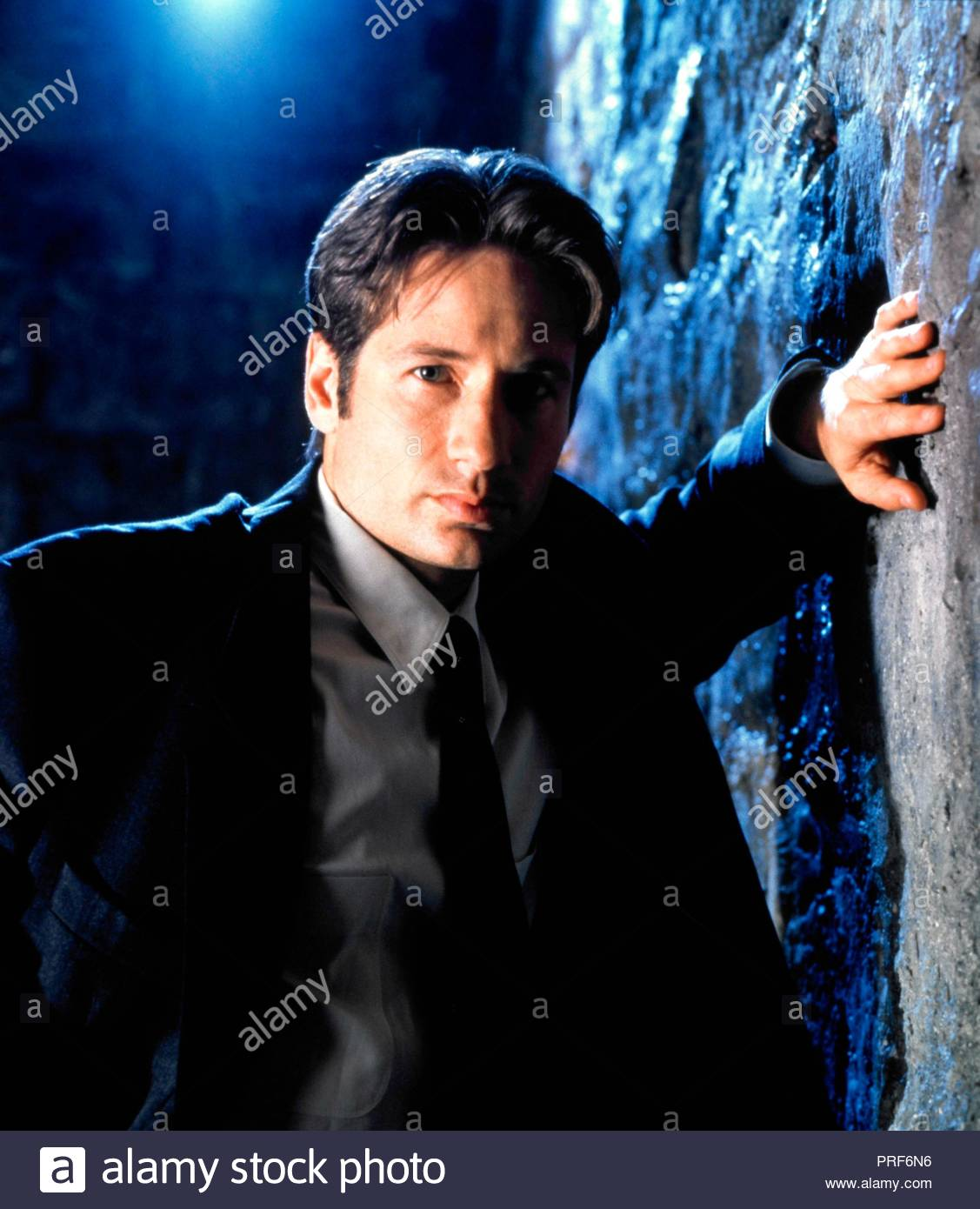 Original film title: THE X FILES. English title: THE X FILES. Year: 1993. Director: CHRIS CARTER; ROB BOWMAN; DAVID NUTTER. Stars: DAVID DUCHOVNY. Credit: FOX FILMS / SELIGER, MARK / Album - Stock Image