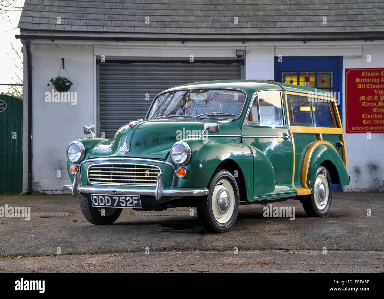 1968 Morris Traveller classic British car - Stock Image