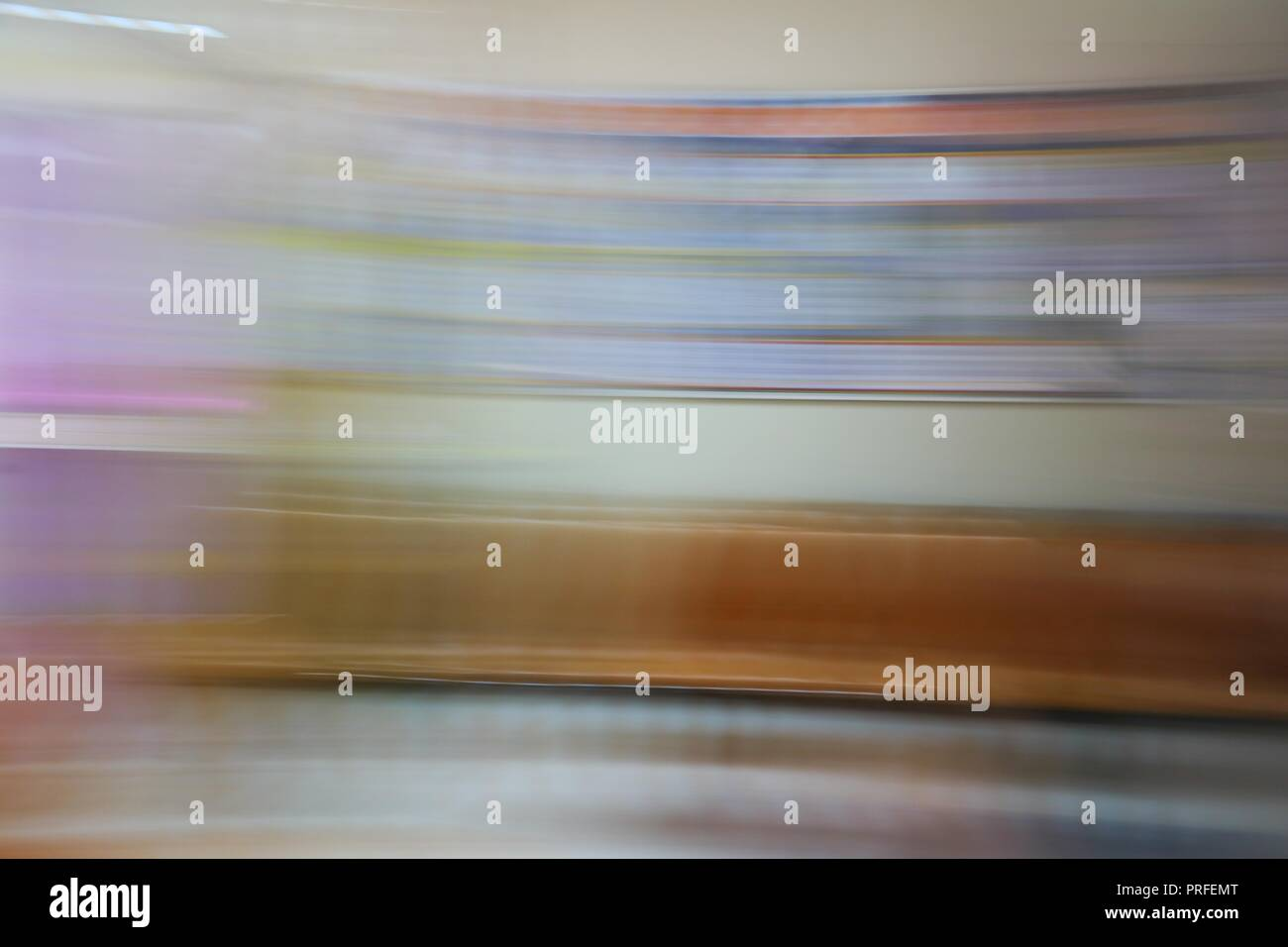 Motion varicolored beautiful blurred abstract   background. - Stock Image