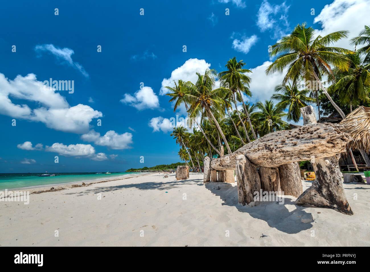 Pantai Bara beach, Bira, Sulawesi, Indonesia - Stock Image